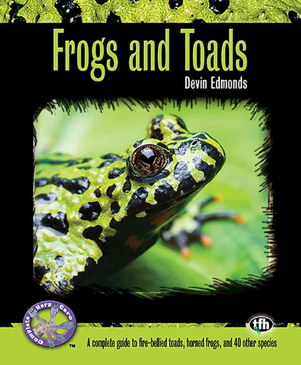 Frogs and Toads By Edmonds, Devin